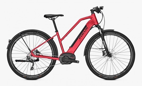 Focus Planet² 6.8 Bosch Performance CX 500 Wh Trapez Modell 2019 rot