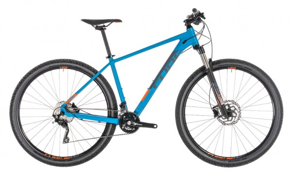 "Cube Attention SL 27,5"" Modell 2019 blue n orange 1"