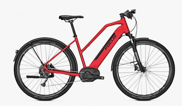 Focus Planet² 6.7 Bosch Performance Line 500 Wh Trapez Modell 2019 rot