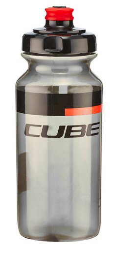 CUBE Icon Trinkflasche 500ml black n red
