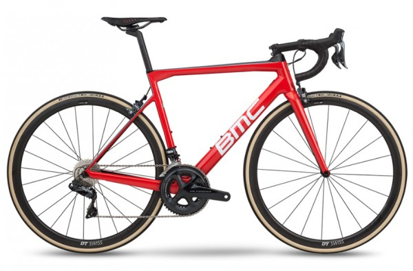 BMC Teammachine SLR01 Three Ultegra Di2 2019 Team Red