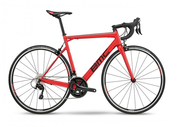BMC Teammachine SLR03 Edition TWO Modell 2019 rot 1