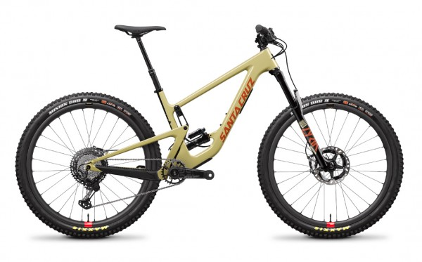 Santa Cruz Hightower 2 Carbon CC XTR Reserve Modell 2020 sand