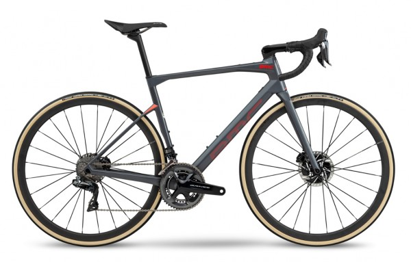 BMC Roadmachine 01 Two Shimano Dura Ace Di2 Modell 2020 grau