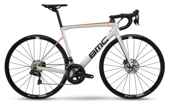 BMC Teammachine SLR02 Disc One Ultegra Modell 2019 Off White