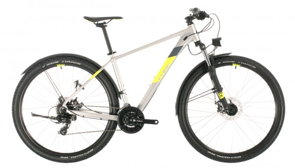 "Cube Aim Allroad 29"" Modell 2020 grey n flashyellow"
