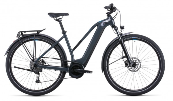 Cube Touring Hybrid One 500 Trapez Modell 2022 grey n blue