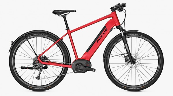 Focus Planet² 6.7 Bosch Performance Line 500 Wh Herren Modell 2019 rot