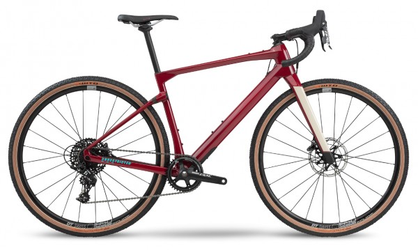 BMC UnReStricted URS four Modell 2020 rot