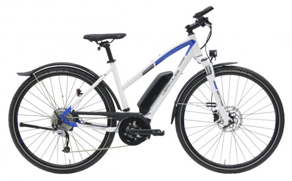 Hercules Rob Cross Sport 8.2 500Wh Trapez Modell 2019 weiss