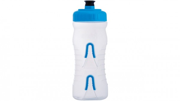 Fabric Trinkflasche 600ml blue-clear
