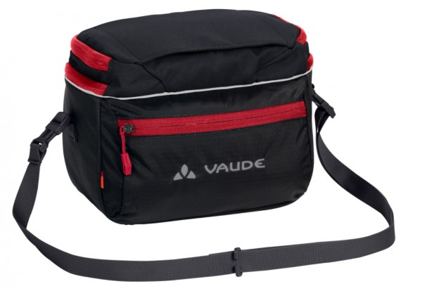 Vaude Lenkertasche Road I black/red
