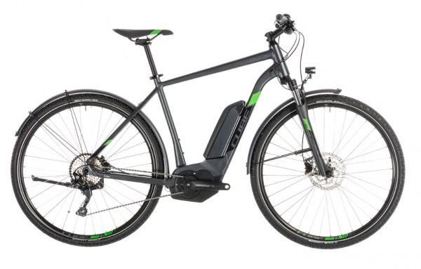 Cube Cross Hybrid Pro Allroad 500Wh Men Modell 2019 iridium n green 1