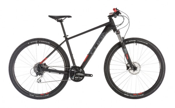 "Cube Aim Race 29"" Modell 2019 black n red 1"