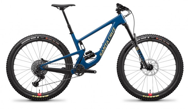 Santa Cruz Hightower 2 Carbon C Sram GX Modell 2020 blau
