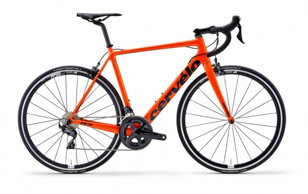 Cervélo R3 Ultegra 8000 Modell 2019 orange 1