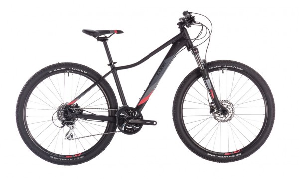 "Cube Access WS Exc 27,5"" Modell 2019 black n coral 1"