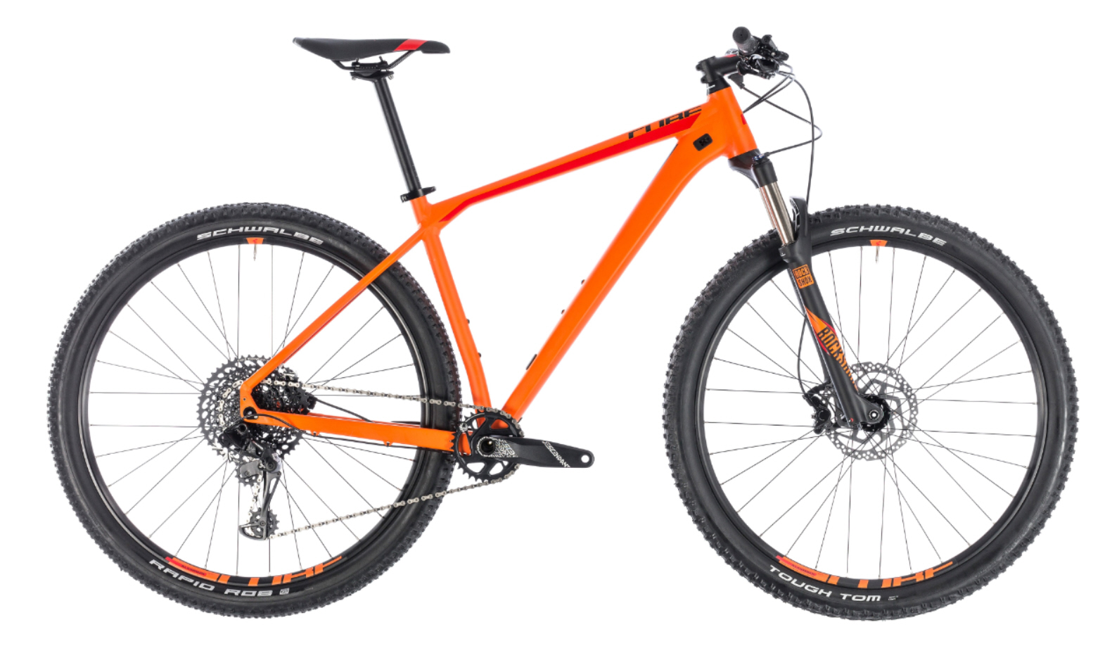 cube reaction race modell 2018 orange n red hardtails 29 zoll mountainbikes fahrr der. Black Bedroom Furniture Sets. Home Design Ideas