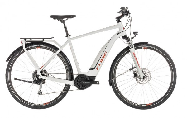 Cube Cross Touring Hybrid 500Wh Herren Modell 2019 grey n orange 1