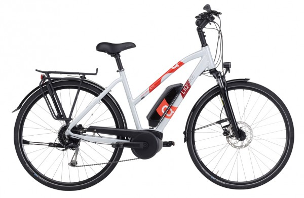 LIQBIKE Activ 9-Gang Bosch Active Line Plus 400 Wh Trapez Modell 2020 rot 1