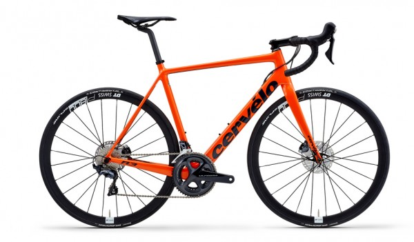 Cervélo R3 Disc Ultegra 8020 Modell 2019 orange 1