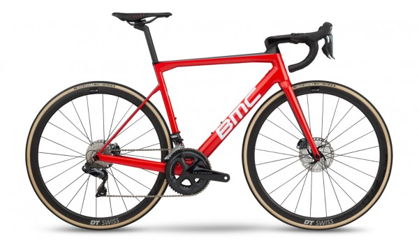 BMC Teammachine SLR01 Disc Three Ultegra Di2 2019 Team Red 1