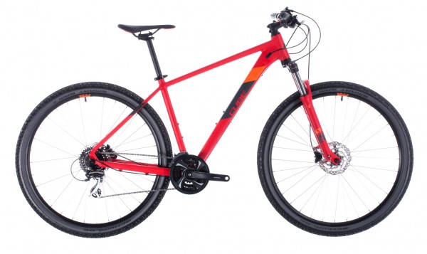 "Cube Aim Race 29"" Modell 2020 red n orange"