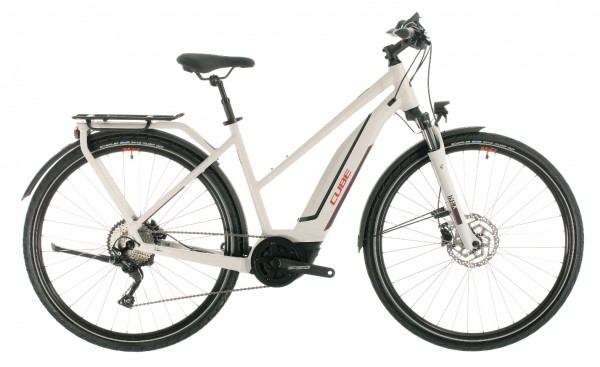 Cube Touring Hybrid Pro 500 Wh Trapez Modell 2020 grey n red