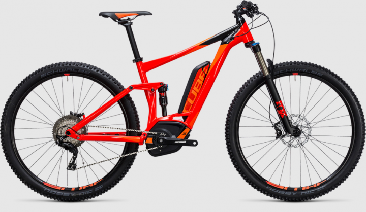 CUBE Stereo Hybrid 120 HPA Race 500 red´n´flashorange Modell 2017