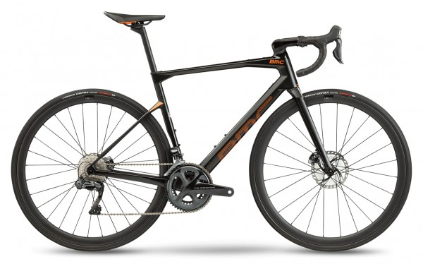 BMC Roadmachine 01 Four Ultegra Di2 Modell 2021 carbon-orange