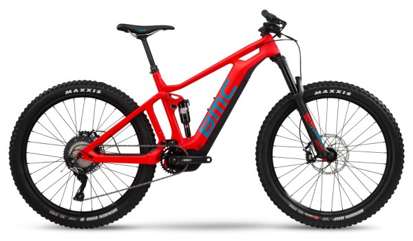 BMC Trailfox AMP TWO Modell 2019 Neon Red Petrol