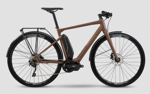 BMC Alpenchallenge AMP CITY Three Modell 2020 braun