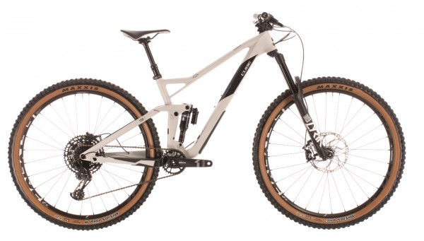 """Cube Stereo 150 C:62 Race 29"""" Modell 2020 grey n carbon"""