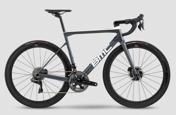 BMC Teammachine SLR01 Disc Two Dura Ace Di2 Modell 2020 grau