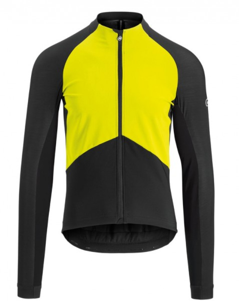 ASSOS MILLE GT Spring Fall Jacket fluo yellow